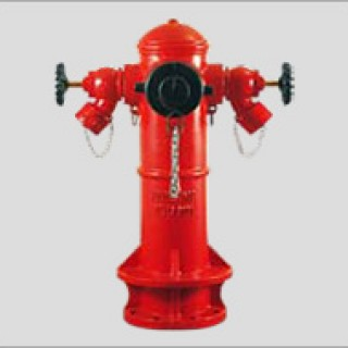 PH1003 (B) - 3 Way Fire Hydrant
