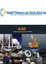 catalogue cover m KIMI - EMERGENCY ESCAPE MASKS