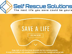 catalogue cover m save a life SF - EMERGENCY ESCAPE MASKS